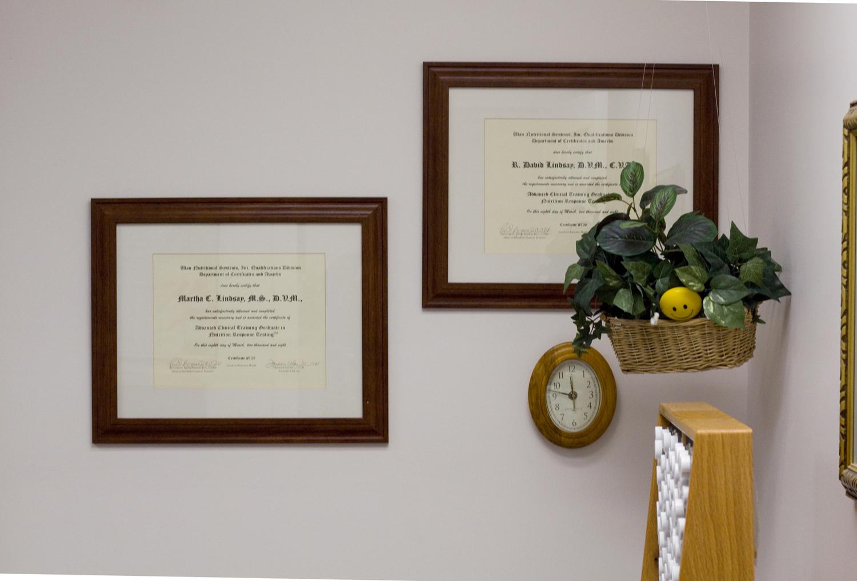 Dr. Martha Lindsay DVM - R. David Lindsay DVM (Acupuncture)
